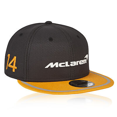 McLaren Official 2018 Fernando Alonso Cap Hat Headwear 9FIFTY Mens Fanatics • 7£