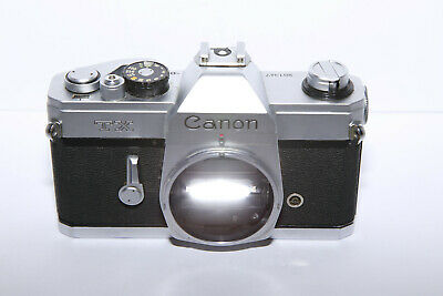 $ CDN41.99 • Buy Vintage Canon TX 35mm Film Camera Body - Tested And Working - SEE PHOTOS