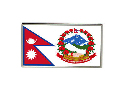 Nepal Flag Lapel Pin Badge • 5.15£