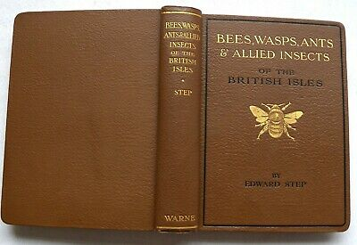 £66 • Buy Bees Wasps, Ants And Allied Insects Of The British Isles, Edward Step. HB 1932