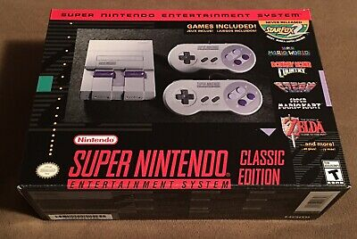 $ CDN399.99 • Buy Snes Brand New Super Nintendo Entertainment System Classic Edition  Mini Mint