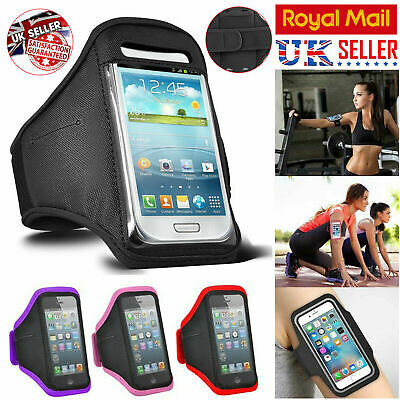 Apple Iphone Mobile Phone Gym Running Jogging Sports Armband Holder For Various  • 2.99£