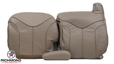 $575 • Buy 1999-2002 GMC Sierra 1500 2500 SLT -Driver Side COMPLETE Leather Seat Covers TAN