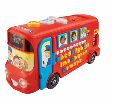 VTech Playtime Bus Letters Alphabet Numbers Educational Musical Baby Play Set • 19.94£