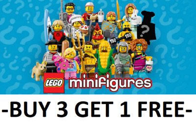 Genuine Lego Minifigures Series 17 71018 Pick Choose Your Own + Buy 3 Get 1 Free • 8.49£