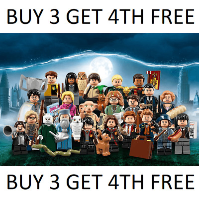 £16.99 • Buy Lego Harry Potter Minifigures Series 1 71022 Mini Figures Buy Any 3 Get 4th Free