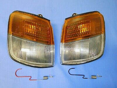 AU39 • Buy Mitsubishi Nh  Nj  Nk  Pajero Front Lh & Rh Indicator Park Lamps Lights 1992-97