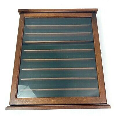 81 Golf Ball Display Case Wall Mounted With Glass Door Quality Constructed Gift • 88.16£