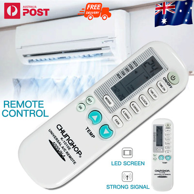 AU9.67 • Buy Universal Air Conditioner Remote Control AC Multibrand Airconditioning Aircon