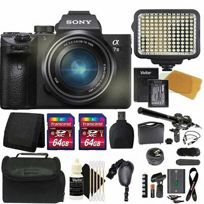 $ CDN2652.73 • Buy Sony A7 III 4K Mirrorless Digital Camera With 28-70mm Lens And Pro Accessory Kit