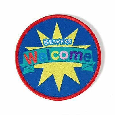 £2.50 • Buy Welcome Beavers Badge NEW Round Scout