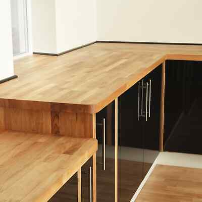 £220 • Buy Solid Oak Kitchen Worktops, Prime, Rustic And A Grade Wood Timber Tops Available