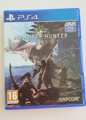 AU30 • Buy Monster Hunter World PS4