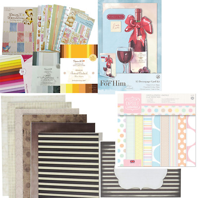 £2.99 • Buy Clearance  Craft Cards, Papers, Die Cut, Toppers  & Card Kits