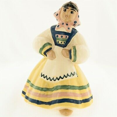 $11.95 • Buy Ceramic Arts Studio Pepita Pan American Figurine Blue