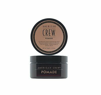 £9.99 • Buy American Crew Pomade Mens Hair High Shine Product Medium Hold Wax Best Curly 50g