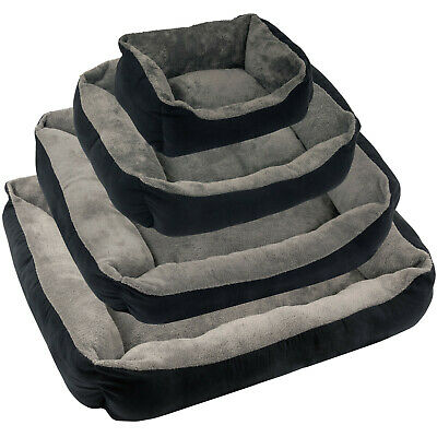 Soft Dog/Puppy/Pet Bed Small Medium Extra Large Luxury S/M/L/XL Cushion Washable • 15.99£