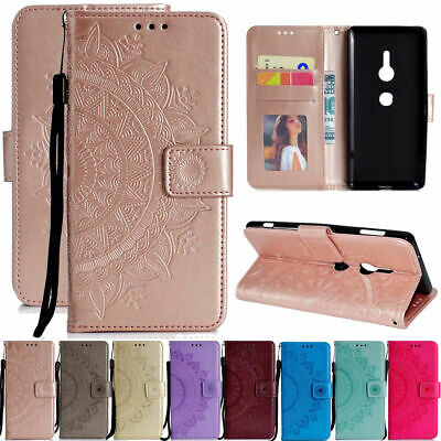 AU8.42 • Buy For Sony Xperia XA2 Ultra XZ Magnetic Flip Cover Card Holder Wallet Leather Case