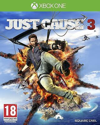Just Cause 3 - Xbox One - New Sealed - Same Day Dispatch • 12.99£