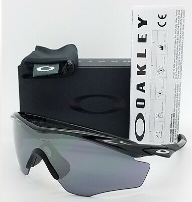 71d50f8bffa NEW Oakley M2 Frame XL Sunglasses Black Black Iridium AUTHENTIC 9343-04 M- frame