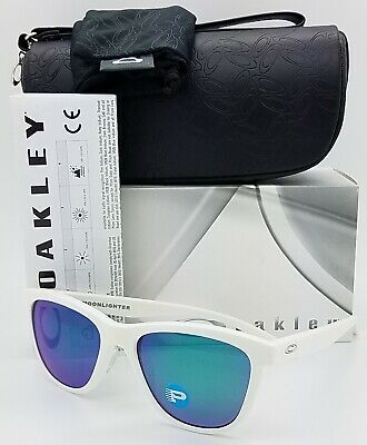 1d10bf6e9b NEW Oakley Moonlighter Sunglasses White Jade Polarized 9320-06 AUTHENTIC  Womens • 94.49