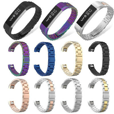 AU16.60 • Buy Replacement Stainless Steel Metal Watch Band Strap For Fitbit Alta & HR