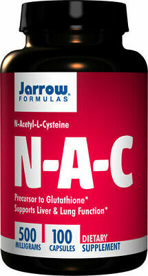 AU29.90 • Buy Jarrow Formulas, NAC, N-Acetyl-L-Cysteine, 500mg, 100 Tabs, Available Now
