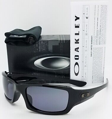e003f14a77 NEW Oakley Fives Squared Sunglasses Matte Black Grey 9238-04 AUTHENTIC 9238  Five • 74.69