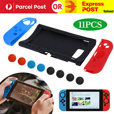 AU18.99 • Buy Silicone Case Cover Protective Cap For Nintendo Switch Gamepad Joysticks Console