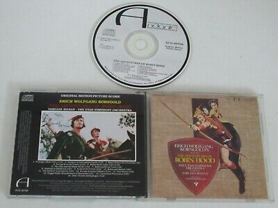 The Adventures Of Robin Hood/Soundtrack/Korngold (Varese Acd 85706) CD Album • 22.65£