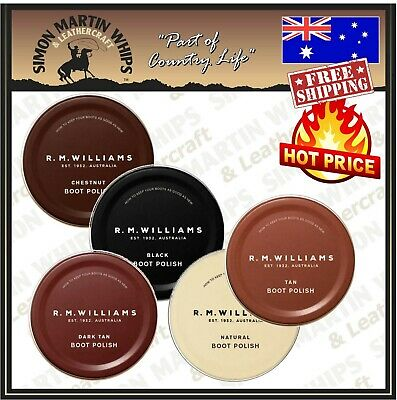 AU22.95 • Buy RM Williams Stockmans Boot Polish - Top Quality Polish In 5 Colours