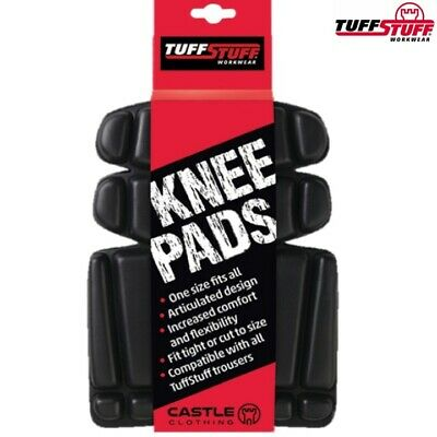 Tuffstuff Workwear Foam Knee Pads Kneepad Inserts For Work Trousers Coveralls • 7.75£