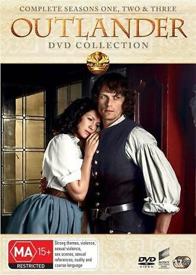 AU98 • Buy Outlander : Season 1-3 (DVD, 2018, 17-Disc Set)