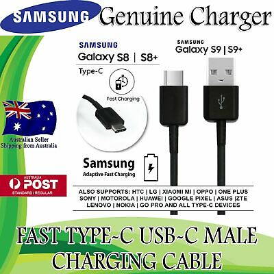 AU5.39 • Buy GENUINE Samsung Galaxy Note 9 Note 8 Type C USB Sync Charger Charging Fast Cable