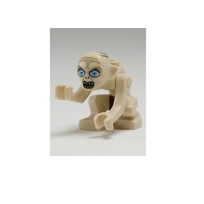 NEW LEGO Gollum - Wide Eyes FROM SET 9470 THE LORD OF THE RINGS (lor005) • 19.59£