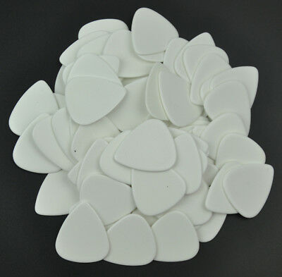 $ CDN12.40 • Buy 50pcs Heavy 1.5mm Guitar Picks Plectrums Celluloid Solid White F Electric Guitar