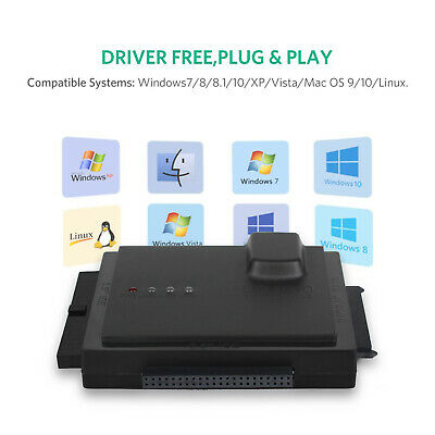AU61.99 • Buy External Hard Drive Disk Enclosure Converter Case (Up To 6TB) USB 3.0 5Gbps