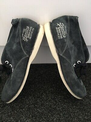Womens Superdry Vintage Suede Blue Ankle Boots Size 7 Uk • 13.99£