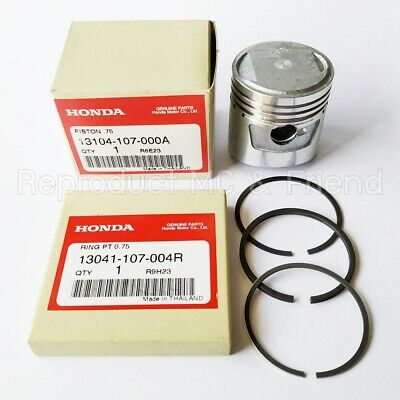 $32.99 • Buy Honda CB100 CL100 CL100S XL100 SL100 Piston & Ring Rings Set Oversize 0.75 New