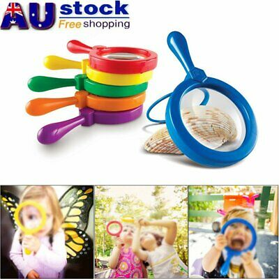 AU9.30 • Buy Kids Jumbo Magnifying Glass Learning Resources Educational Toys For Children S4