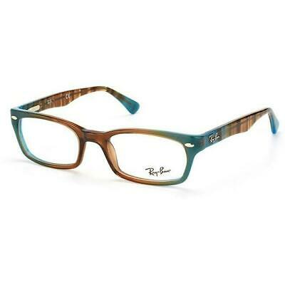 635d0d90fa7 New Ray Ban Frames Gradient Brown Acetate RX Eyeglasses RB5150 5490 48 19  135 • 49.98