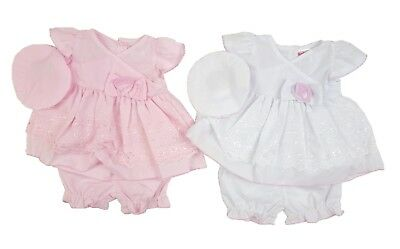 Baby Girls Traditional Dress Hat & Bloomers Set Spanish Romany Party Outfit NEW • 10.45£