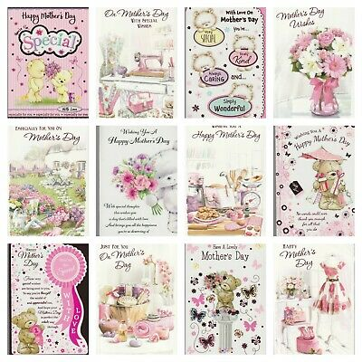 £1.65 • Buy Mother's Day Card ~Mum ~  Like A Mum To Me  ~ Happy Mother's ~ Various Designs