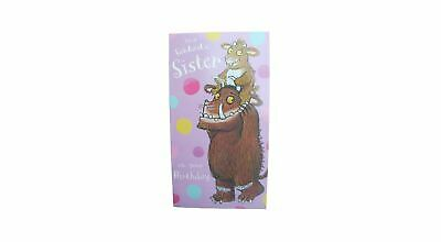 £3.99 • Buy The Gruffalo Birthday Card For A SISTER By Danilo - GR018