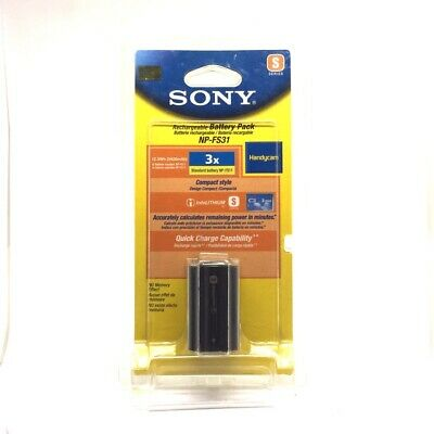 £141.96 • Buy New Old Stock Sony Original Genuine OEM S Series Camcorder Battery (NP-FS31)