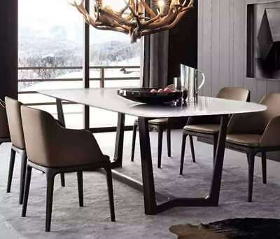 AU1350 • Buy Zilan Stainless  Steel Dinning Table W/ White Marble Top(Pick Up Only, Plz)