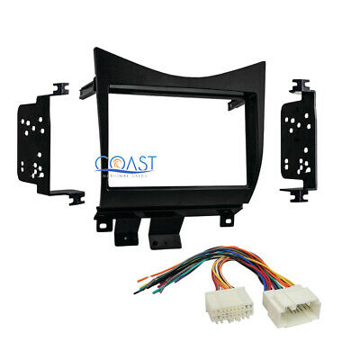 $22.95 • Buy Double DIN Car Radio Stereo Dash Kit Wire Harness For 2003-2007 Honda Accord