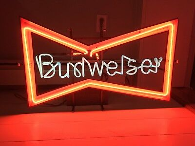 $ CDN324.55 • Buy Budweiser Neon Sign Vintage