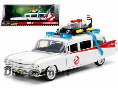 Ghostbusters ECTO 1 99731 Hollywood Rides 1/24 Scale Diecast Car JADA Toy Model • 37.99£