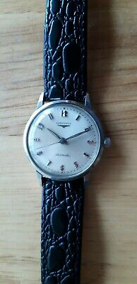 $ CDN475.60 • Buy Vintage Longines Admiral 1200 Automatic S/s Watch Works